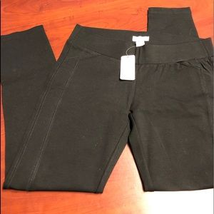 DELIA'S Black Ponte/legging size L NWT